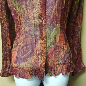Coldwater Creek Tops - Coldwater Creek Blouse